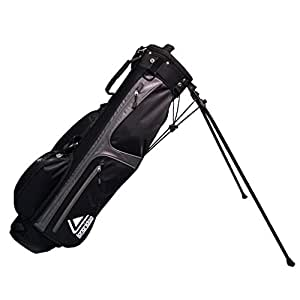 Longridge 6-Inch Weekend Stand Bag, Black Silver