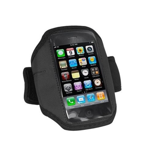 SODIAL(Wz.) Armband Armbandtasche Armband Huelle Handytasche fuer Apple iPod Touch 3. Generation & iPhone 3G 3GS 8GB, 16GB, 32GB & 64GB