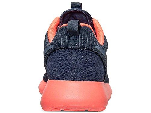 Nike Roshe Run 511882, Damen Laufschuhe Training Schwarz (Schwarz-Dunkelgrau-Rosa)