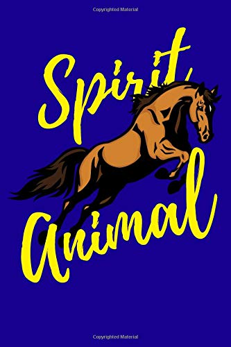 Horse Spirit Animal: 100 Paged Lined Journal 6