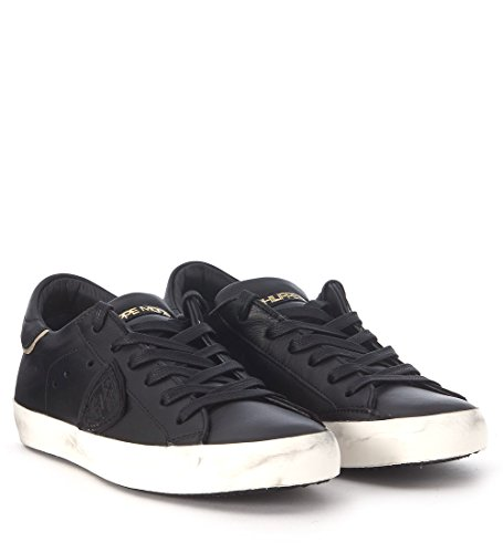 Sneaker Philippe Model Paris in pelle nera Nero