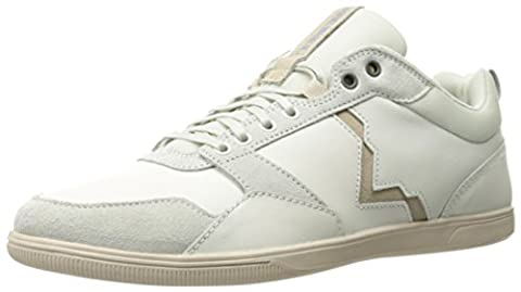 Diesel Men's S-Tage Trainers, White (Ice/Sandshell), 9.5 UK 44