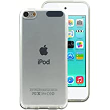 SDTEK iPod Touch 6G Funda Carcasa Case Bumper Cover Suave Crystal Silicona