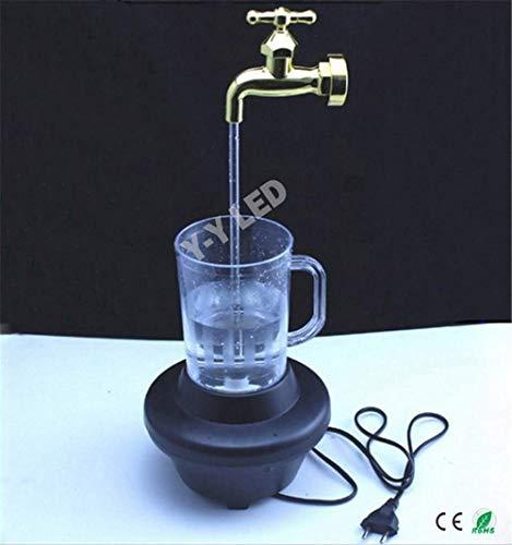 BDYJY Bunte magische Hahnlampe der Neuheit, Dekoration magischer Hahn-Brunnen, magische Hahn-laufende Lichter - Hahn Neuheit