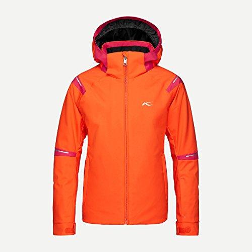Kjus Mädchen Skijacke FORMULA GS15-A03.34030 orange/rot Gr.176