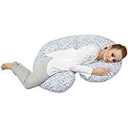 Motherhood Still- und Lagerungskissen sleepy-C, Classics, ergonomisch mit Öko-Tex Standard 100, Blaue Zweige 2017