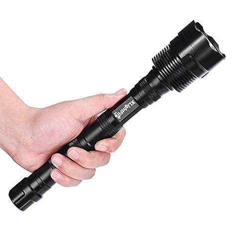 BBring XLightFire 28000 Lumen 11x CREE XML T6 5 Modus 18650 super helle LED-Taschenlampe
