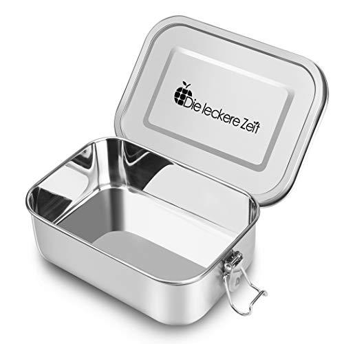Bess Auslaufsicher Edelstahl Brotdose | Umweltfreundliche Brotdose ohne Plastik&BPA | Die hochwertige Lunchbox | 800ml Bento Box | Die große Brotbox zum Wandern/Reisen/Schule Kinder und Erwachsene