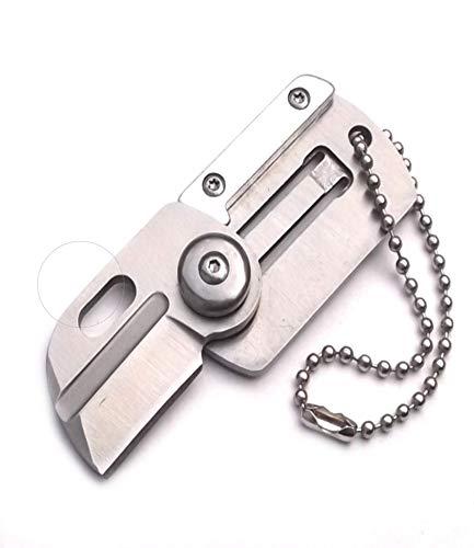 OEM 303-2 Micro Messer Steel Schlüsselanhänger Taschenmesser Multitool Messer