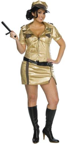 Reno Halloween (Deputy Clementine 'Clemmie' Johnson 'Reno 911' Kostüm für Damen Gr. XL,)