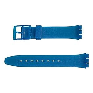 Original Swatch 17 mm Armband Blue TRANSPARENT ABG0032