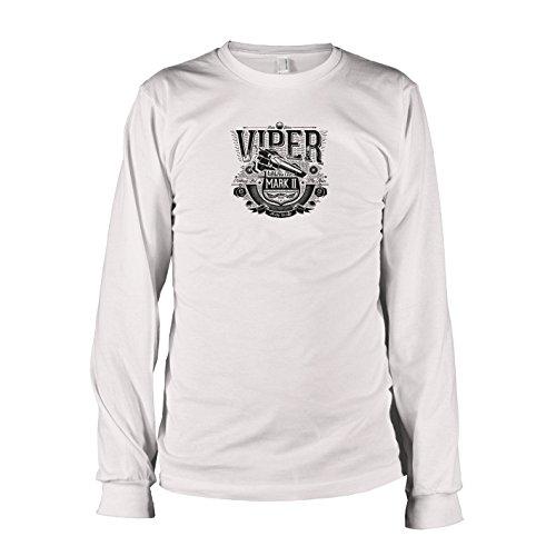 TEXLAB - Galactica Viper - Langarm T-Shirt, Herren, Größe XXL, weiß
