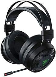 Razer Nari Ultimate Wireless 7.1 Surround Sound Gaming Headset: THX Audio & Haptic Auto-Adjust Headband -