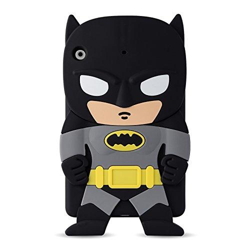 iPad Mini Kinder Hülle | JAMMYLIZARD Kinderfre&liche Silikonhülle [ Batman ] Kids Case Cover Stossfeste Kinderschutzhülle aus Silikon TPU für Apple iPad Mini 3. 2. & 1. Generation