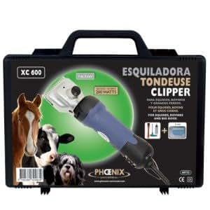 Phoenix - Tondeuse professionnelle 200w pour cheval bovin et très gros grand chien - envoi gratuit !