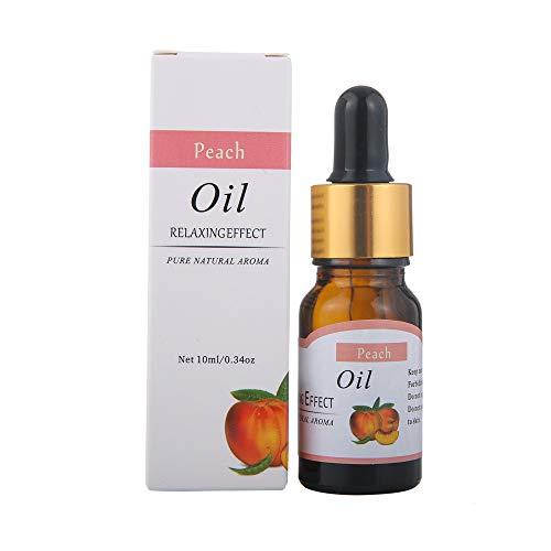 Aromatherapie Öle,About1988 Aromatherapie Duftöl, 100% Natur Duftöle Aromaöle für Diffusor, Luftbefeuchter, Aromatherapie 10ml (Pfirsich L) - Duft Luftbefeuchter Additiv