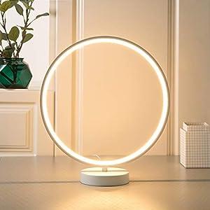 AUKEY Lampada da Tavolo 6 Modalit/à di Illuminazione 4 Tipologie di Velocit/à e Funzione di Memoria Lampada Aura Dimmerabile con Telecomando