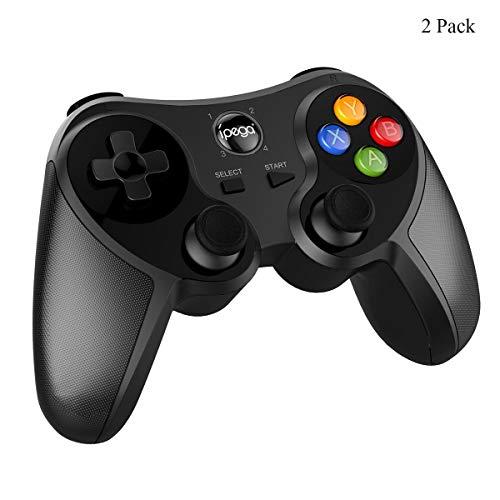 ZUZU Kabelloser Gaming-Joystick, kabelloser Gamecontroller, 6-Achsen-Vibrations-Bluetooth-Handgriff mit Bewegungserkennung für Nintendo Switch,2pack