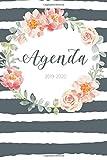 Agenda 2019 - 2020: Agenda Giornaliera Agosto 2019 a Dicembre 2020 - Pianifica i tuoi appuntamenti quotidiani   Agenda Settimanale 2019 - 2020   Journalier, Agende, Office e Calendario 2019/2020