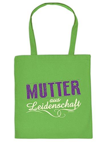 Mega Coole Baumwolltasche / Tragetasche - Geschenk für die Mama - Mutter aus Leidenschaft /Goodman Design (Mega-mutter)