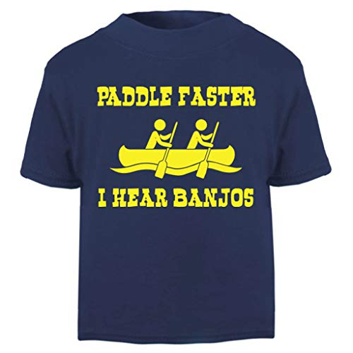 Deliverance Paddle Faster Quote Baby and Toddler Short Sleeve T-Shirt (Film Quote T-shirts)