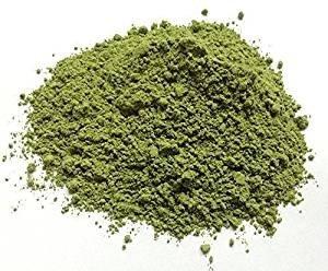 Soin Capillaire Poudre ayurvédique de Tulsi BIO - Action détoxifiante et antiseptique, aide à lutter contre les pellicules et purifie la peau - Yumi Bio Shop 250 gr