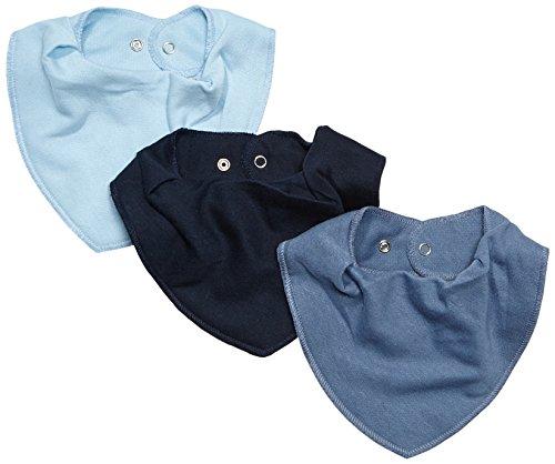 Care - Bufanda - para bebé niño Blau (Dark blue 785) Talla única