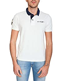 Blauer - Polo - manches courtes - Homme blanc Bianco