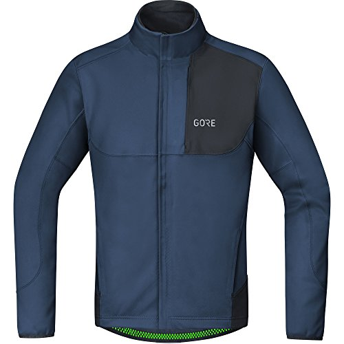 GORE Wear Winddichte Herren Fahrrad-Jacke, C5 GORE WINDSTOPPER Thermo Trail Jacket, M,...