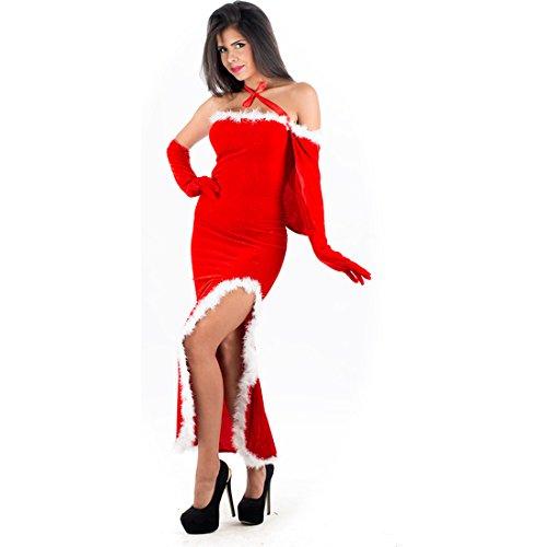 Schelmen - rote Kostüm MAMA NOEL (Mama Noel Kostüm)