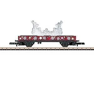41Ubj0ftAqL. SS300  - Märklin 80629 Z Niederbordwagen Weihnachten 2019