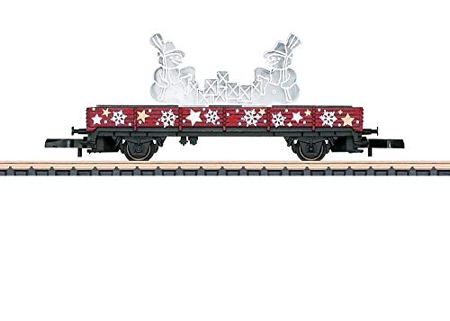 41Ubj0ftAqL - Märklin 80629 Z Niederbordwagen Weihnachten 2019
