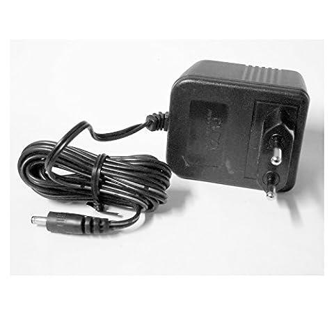 Bloc d'alimentation à fiche–AC/DC Adapteur 230V ~ Out + 12VDC 600mA