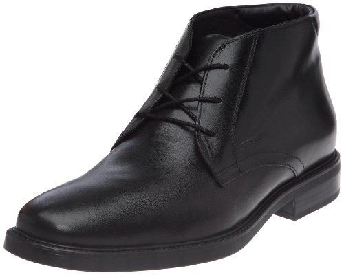 Geox U LONDRA X, Herren Desert Boots, Schwarz (C9999BLACK), 41 EU