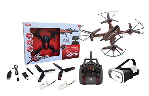 Outletdelocio. Drone radiocontrol con camara A8 Wifi FPV + Gafas VR. Pilota...