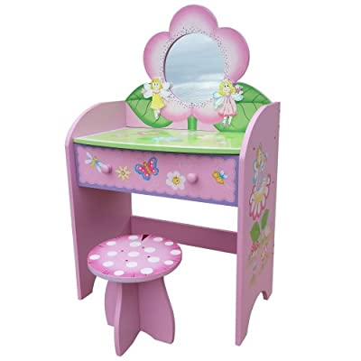Liberty House Toys Fairy Dressing Table/ Stool