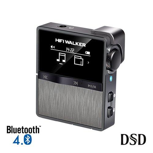 HIFI WALKER HX Sport Bluetooth Hoher Auflösung MP3 Player Mini Clip auf verlustfreie digitale Audio Player mit 16 GB Speicherkarte, unterstützt bis zu 256 - Clip-on-mp3-player