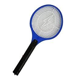 SODIAL Asesino del mosquito Tenis Raqueta electrica insecto de la mosca Bug Zapper Avispa Swatter