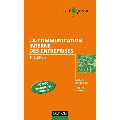 La communication interne des entreprises - 6e édition