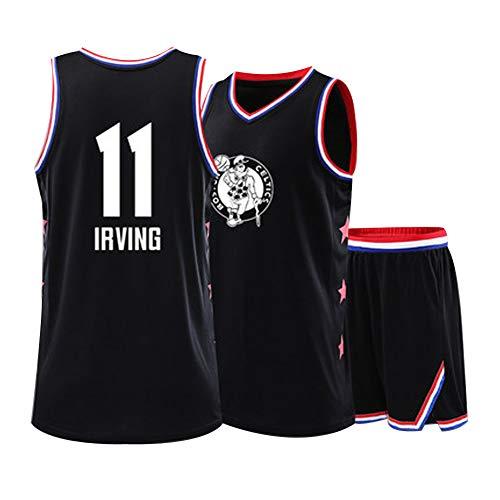 NBA All-Star Herren-Basketballtrikot # 30 34 23 3 11 13 35 CURRY JAMES WADE HARDE DURANT Kinder-Basketballtrikot, Basketballoberteil für Herren und Jungen, offiziell lizenziertes Kurzarmteam-11-XS -