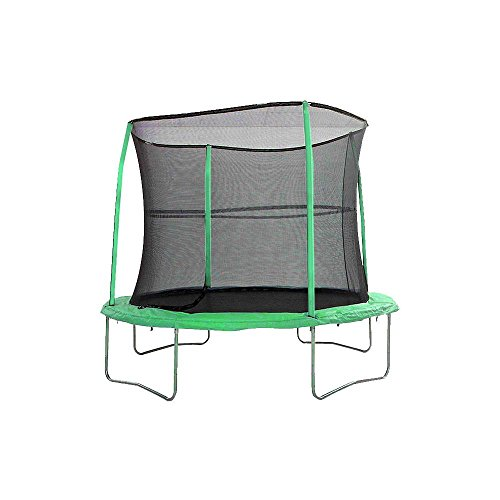 NEW Jump King 12ft Combo Trampoline With Safety Net - Green Pads