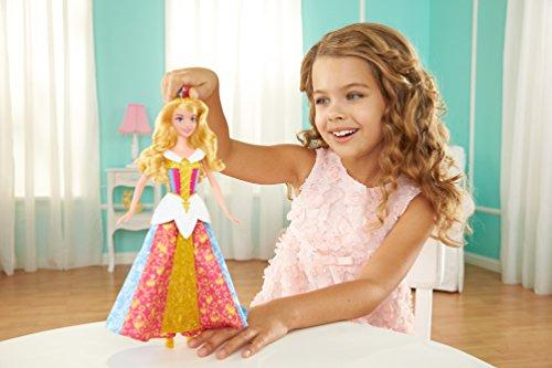 Disney Princesas Muñeca Bella Durmiente con Vestido mágico (Mattel CBD13)
