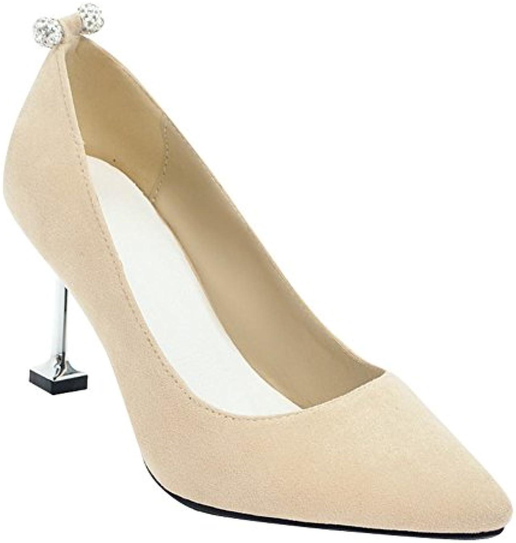 35a680e3738 Carolbar Women s Elegant Shoes Rhinestones High High Heel Pointed Toe Court  Toe Shoes B07BLRXMT3 Parent e623eba - www.stechguru365.com