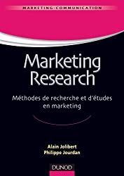 Marketing Research - Méthodes de recherche et d'études en marketing