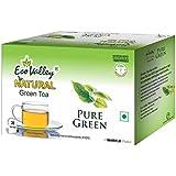 Eco Valley Natural Green Tea, Pure Green, 30 Tea Bags