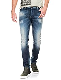 Salsa - Jeans Slender déchirés overdye - Homme