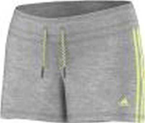 adidas Essentials Short Femme gris/jaune
