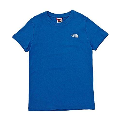 The North Face Kinder Simple Dome T-Shirt, Turkish Sea/High Rise Grey, XL Preisvergleich