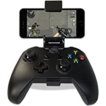 ÁpexTech (Versión Mejorada) Bluetooth Controlador Android Wireless Juego Controlador Gamepad Joystick +Soporte para teléfono(Regalo) para Android /Android Smart TV/Tablet PC