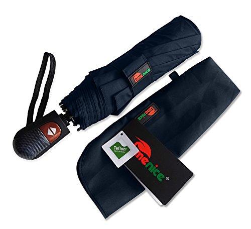 umenice-automaitc-9-rib-travel-umbrella-windproof-with-210t-fabric-teflon-blue
